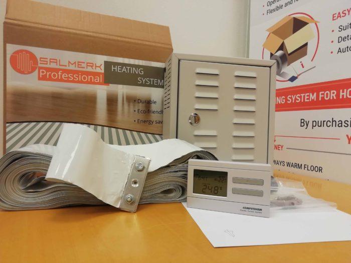 new electric underfloor heating system kit 12v